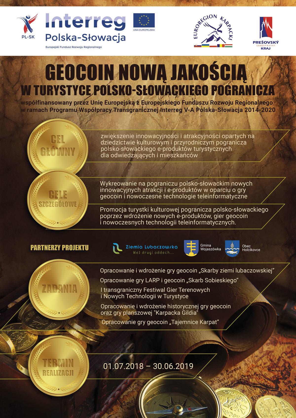 GEOCOIN nową jakością w turystyce polsko-słowackiego pogranicza